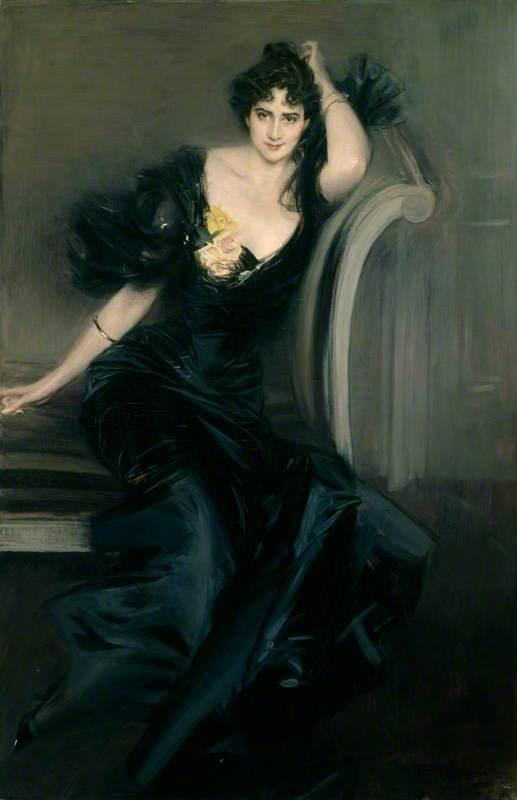 Boldini, Giovanni, 1842-1931; Gertrude Elizabeth, nee Blood, Lady Colin Campbell