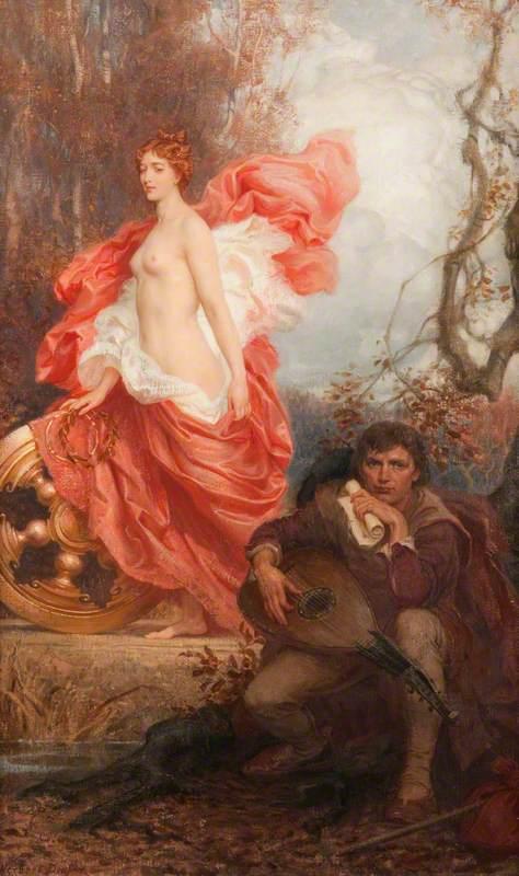 Draper, Herbert James, 1864-1920; Art and the Jade