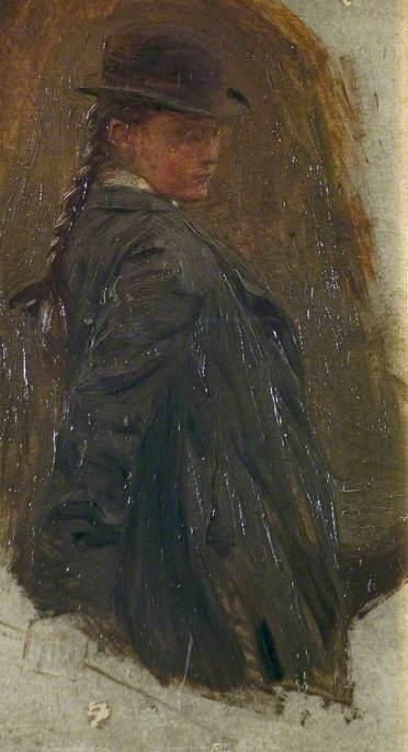 Syddall, Joseph, 1864-1942; Miss Deakins