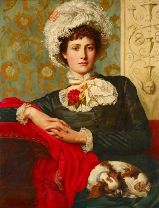 Prinsep, Valentine Cameron, 1838-1904; Unprofessional Beauty