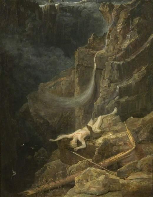 Danby, Francis, 1793-1861; The Precipice