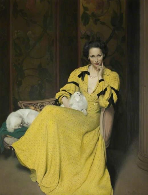 Gunn, Herbert James, 1893-1964; Pauline in the Yellow Dress