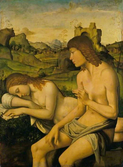 Pisano, Niccolo, 1470-1538; An Idyll: Daphnis and Chloe