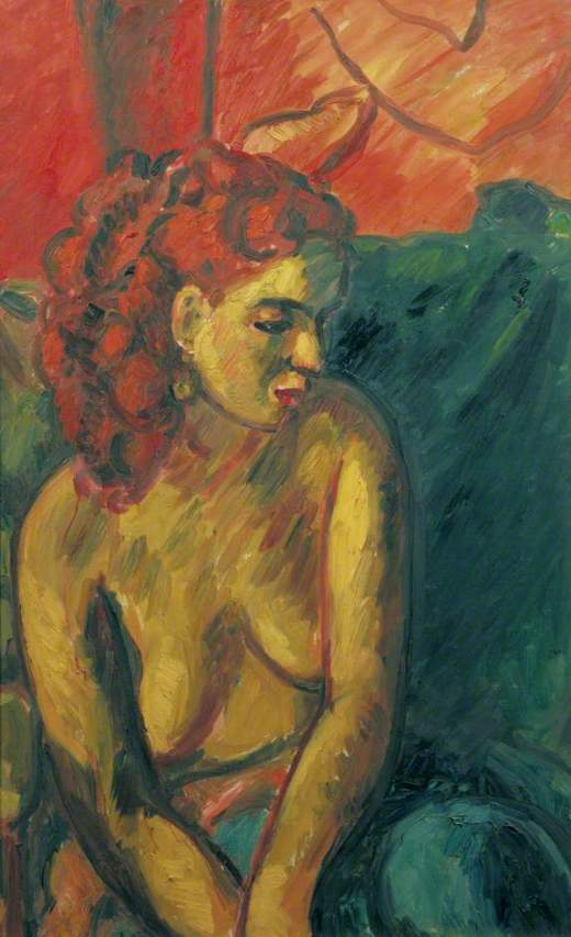 Smith, Matthew Arnold Bracy, 1879-1959; Lucy Grey, Nude