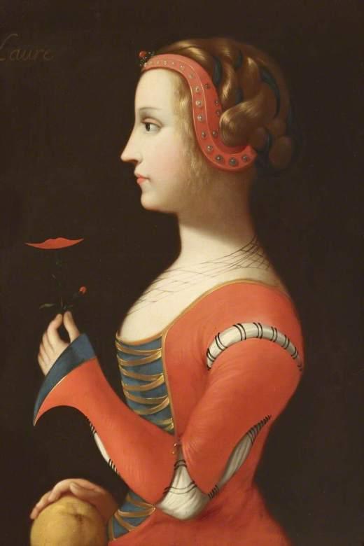 French School; Laure ('Laura') de Noves (d.1348), Wife of Hugues de Sade