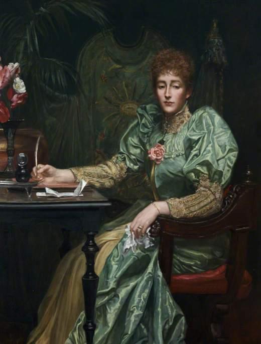Prinsep, Valentine Cameron, 1838-1904; Lady Frances Layland-Barratt